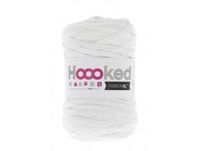 Hoooked RibbonXL - Optic White (120 m)