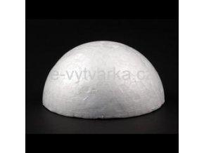 Polystyrenová polokoule pr.13 cm
