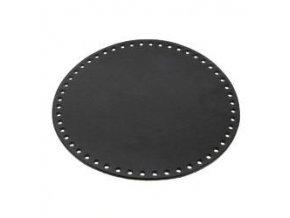 Dno kruhové Hoooked - pr. 23 cm, černé