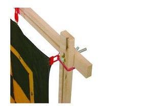 Napínací rám na hedvábí – základní 90x90cm