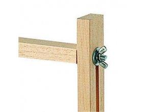 Napínací rám na hedvábí 90x90cm