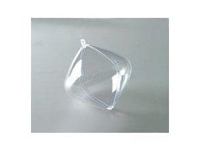 Plastové cibule dvoudílná; 9 cm