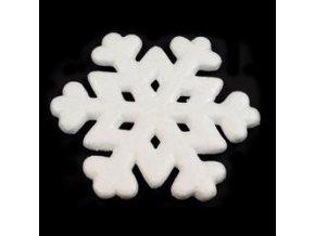Polystyrenová sněhová vločka 19,5 cm