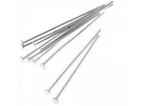 Ketlovací nýty 40 mm (50-1000ks) - platina