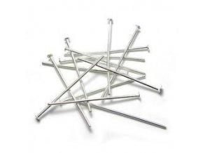 Ketlovací nýty 40 mm (50-1000ks) - stříbro