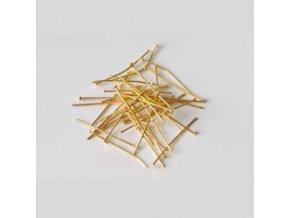 Ketlovací nýty 30 mm (50-1000ks) - zlato