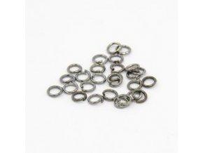 Spojovací kroužky pr.4 mm (100-1000ks) - hematit