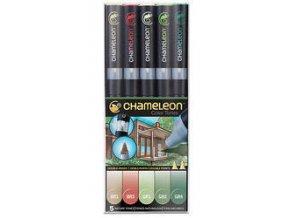 Fixy Chameleon sada 5ks přírodní barvy 514