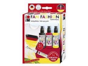 Textilní spray Marabu 3x100ml FAN FASHION