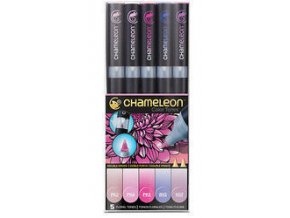 Fixy Chameleon sada 5ks květinové barvy 512