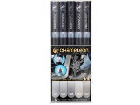 Fixy Chameleon sada 5ks šedé barvy 509