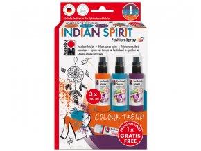 Marabu Fashion Spray Set Indian Spirit 11836 h XL
