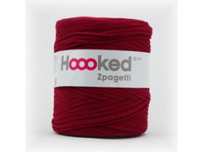 Hoooked Zpagetti - wine red (120 m)