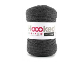 Hoooked RibbonXL - Charcoal Anthracite (120 m)