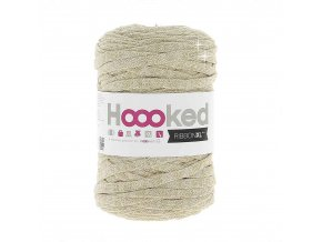 Hoooked RibbonXL - Lurex Golden Dust Glitter (85 m)