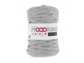 Hoooked RibbonXL - Lurex Silver Glitter (85 m)