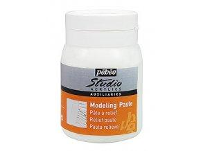 Modelovací pasta Pébeo Studio Acrylics (500 ml)