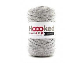 Hoooked RibbonXL - Silver Grey (120 m)