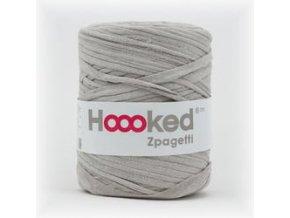 Hoooked Zpagetti - light silver gray (120 m)