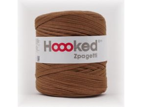Hoooked Zpagetti - cinnamon brown (120 m)