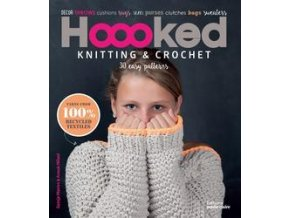 Kniha Hoooked Knitting and Crochet