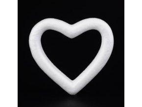 Polystyrenové srdce  15 cm (1ks)