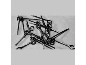 Ketlovací jehly 30 mm (50 - 1000ks) - antracit