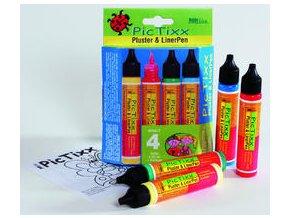 Sada Hobby Line PicTixx Pen, plastická a konturovací