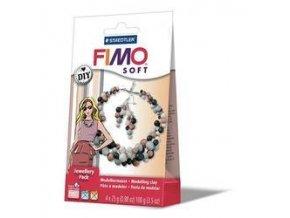 FIMO SOFT DIY sada - Šperková sada Perly