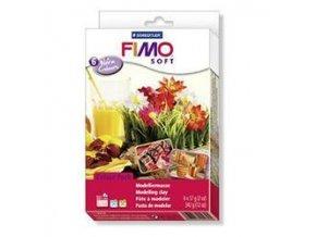 FIMO SOFT sada - trendové Teplé barvy