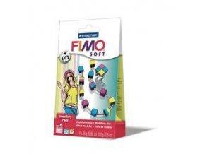 FIMO SOFT DIY sada - Šperková sada Kostky