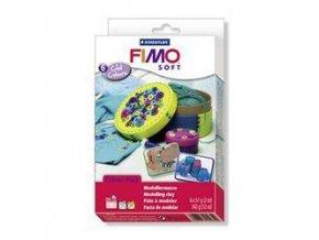 FIMO SOFT sada - trendové Studené barvy