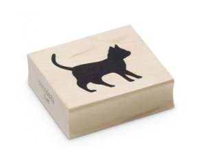 Enkaustické razítko - kočka (42x40 mm)