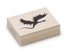 Enkaustické razítko - drak pravý (65x38 mm)