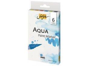 Sada vodových  Aqua marker SOLO GOYA - 6 barev