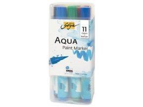 Sada vodových Aqua marker SOLO GOYA - 11 barev + míchací marker