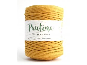 PAULINA Macramé 5mm (190m) - LION YELLOW