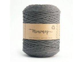 MINIMOP Macramé 2,5mm (500m) - GREY