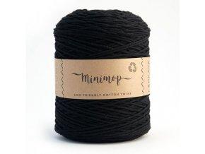 MINIMOP Macramé 2,5mm (500m) - BLACK 70