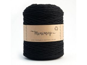 MINIMOP Macramé 2,5mm (500m) - BLACK