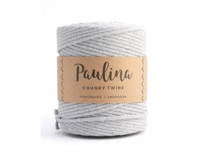 PAULINA Macramé 5mm (190m) - LIGHT GREY 66