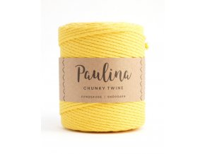 PAULINA Macramé 5mm (190m) - YELLOW