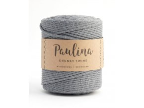 PAULINA Macramé 5mm (190m) - GREY