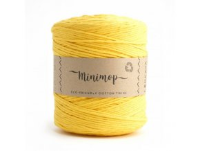 MINIMOP Macramé 2,5mm (500m) - YELLOW