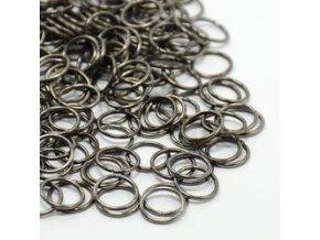 Spojovací kroužky pr.10 mm (50-1000ks) - černá