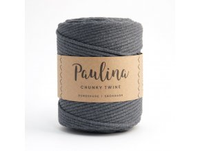 PAULINA Macramé 5mm (190m) - DARK GREY 78