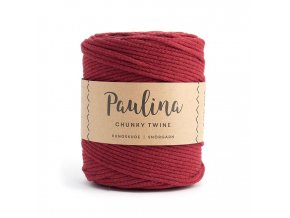 PAULINA Macramé 5mm (190m) - WINE RED 65