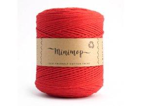 MINIMOP Macramé 2,5mm (500m) - RED 64