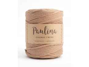 PAULINA Macramé 5mm (190m) - LIGHT BROWN