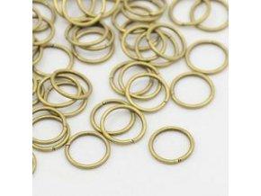 Spojovací kroužky pr.10 mm (50-1000ks) - starozlato